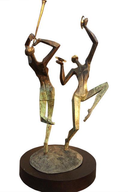 Shashi K Paul, 'Instinctive Beats', 2021, Sculpture, Bronze, Arushi Arts