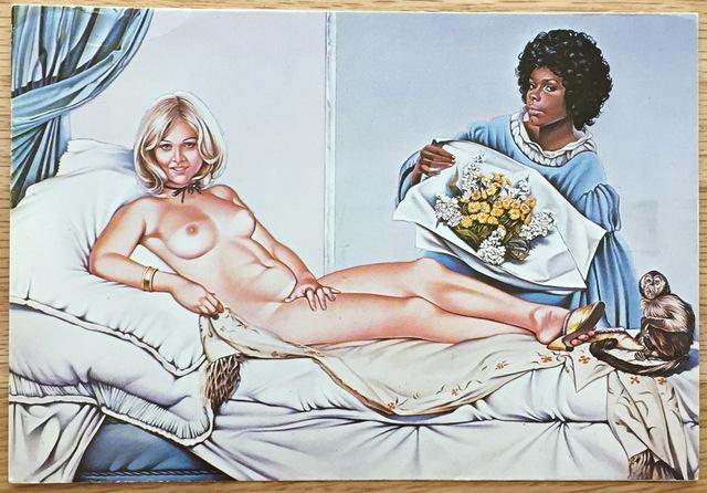 , 'Signed Exhibition Postcard,' 1974, Kwiat Art