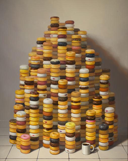 , 'More Donuts,' 2014, Gallery Henoch
