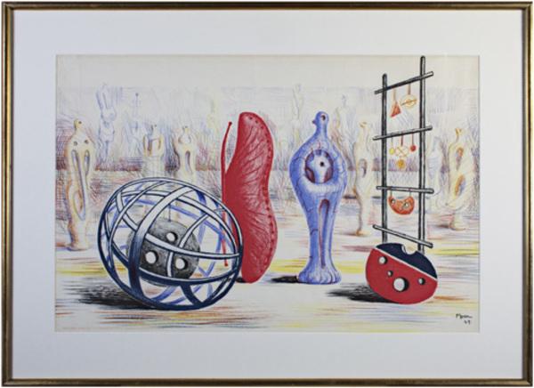 , 'Sculptural Objects Ref.  Henry Moore 1931-1972 by Gerald Cramer Cat. 7,' 1949, David Barnett Gallery