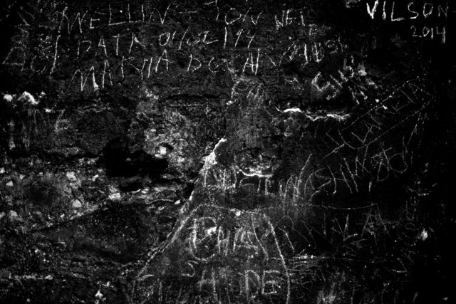 , 'Writing on the Wall, Growing in Darkness Series,' 2012-2015, Ed Cross Fine Art