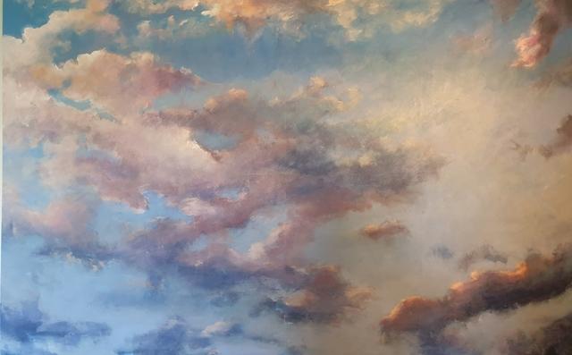 Vali Irina Ciobanu, 'Guardian Angel', 2019, Painting, Acrylic on canvas, Renaissance Art Gallery