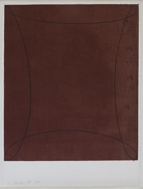 , 'Dark Red Figure,' 1991, Catherine Duret Art Moderne et Contemporain