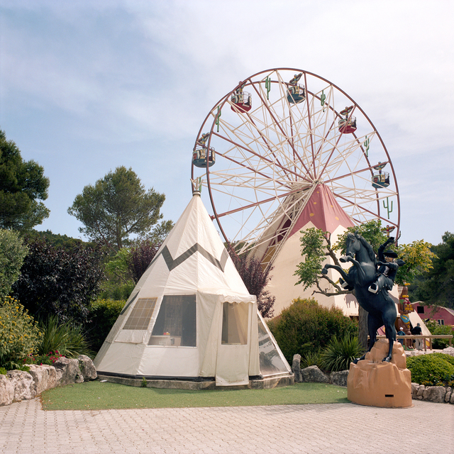 , 'Tipi with Ferris Wheel, OK Corral, Cuges Les Pins, France,' 2014, Circuit Gallery