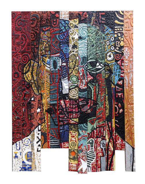 """Gerald Chukwuma, '""""THE HUNTER'S STORY""""', 2019, Kristin Hjellegjerde Gallery"""