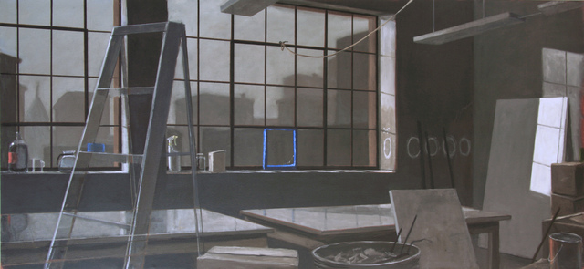 , 'LOFT, BROKEN WINDOW, MORNING,' 2015, Greg Kucera Gallery