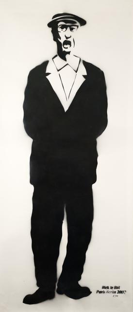 Blek le Rat, 'Old Irish Man', 2002, Urban Spree Galerie