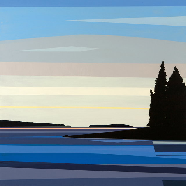 , 'Birch Point,' 2015, Dowling Walsh