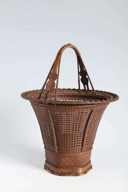 , 'Bamboo Basket (T-4274),' ca. 1920, Erik Thomsen
