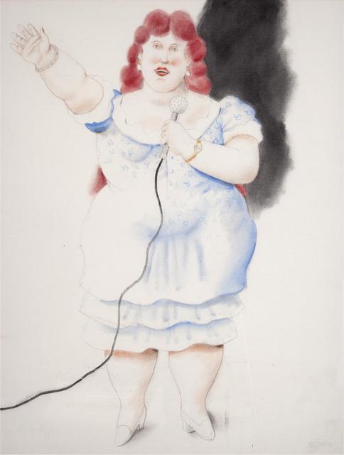, 'La cantante,' 2010, Galeria El Museo
