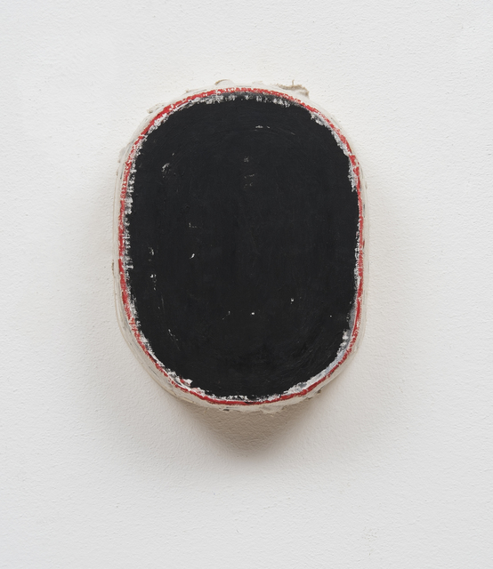 , 'Black with Red Edge,' 2015, Barry Whistler Gallery