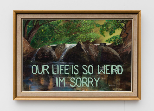 , 'Our Life is so Weird ,' 2016, Rowing