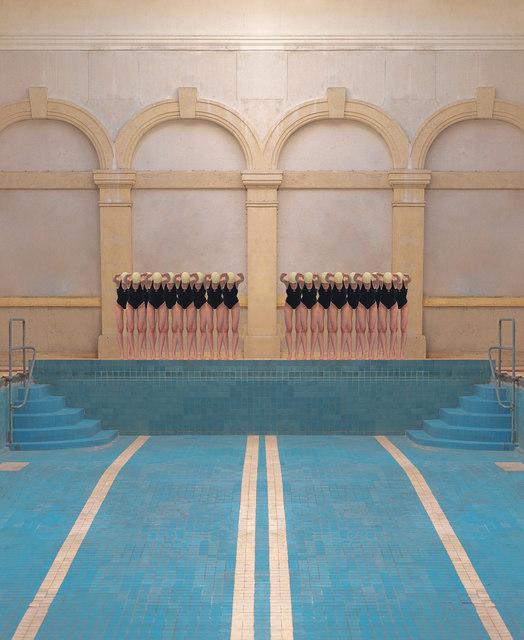 Maria Svarbova, 'Grössling – City Bath 2020 (5) ', 2020, Photography, Archival Pigment Print, Think + Feel Contemporary