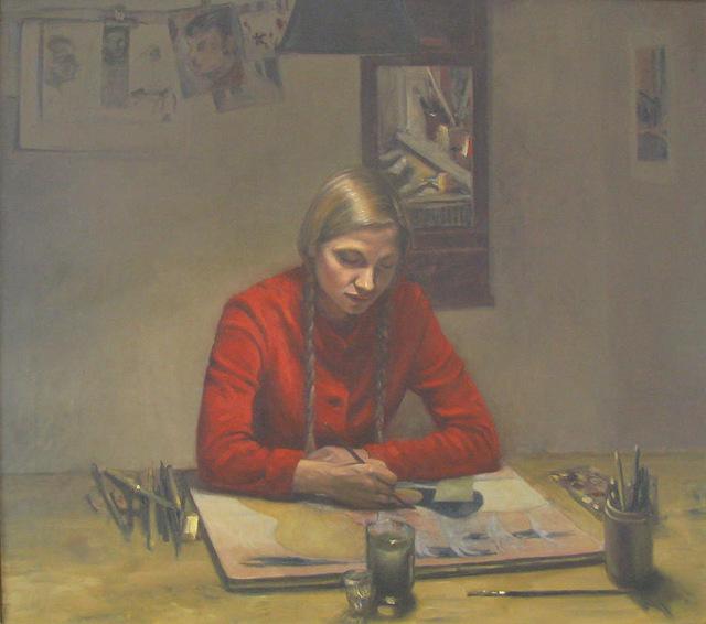 , 'Måleri,' 1973, Galerie Leger