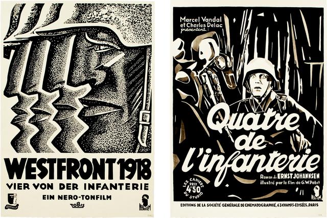 , 'Westfront / Quatre de l'infanterie,' 2014-2015, Barbara Thumm