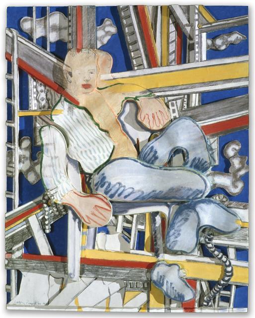 , 'Blue Collar Holiday,' 1990, Mixografia