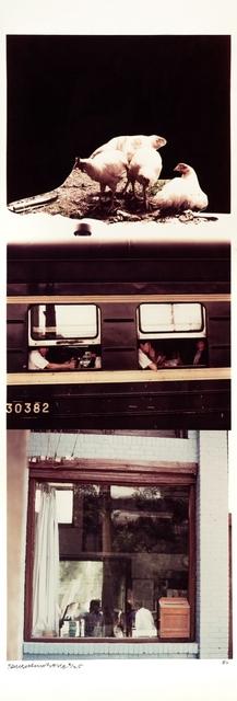 Robert Rauschenberg, 'Studies for Chinese Summerhall #III', 1984, inch&cm