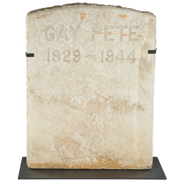 Headstone For A Horse
