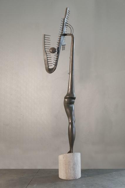 , 'La Luna Presa,' 1971, Accesso Galleria