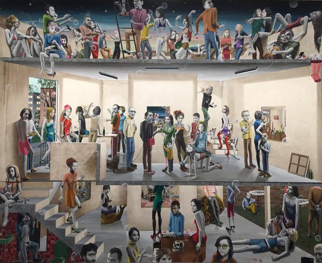 Gino Rubert, 'The opening II', 2019, Galeria Senda