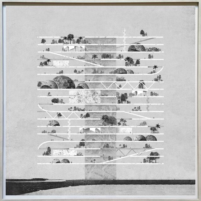 Miles Gertler, 'Seven, Hanging Gardens', 2015, Corkin Gallery