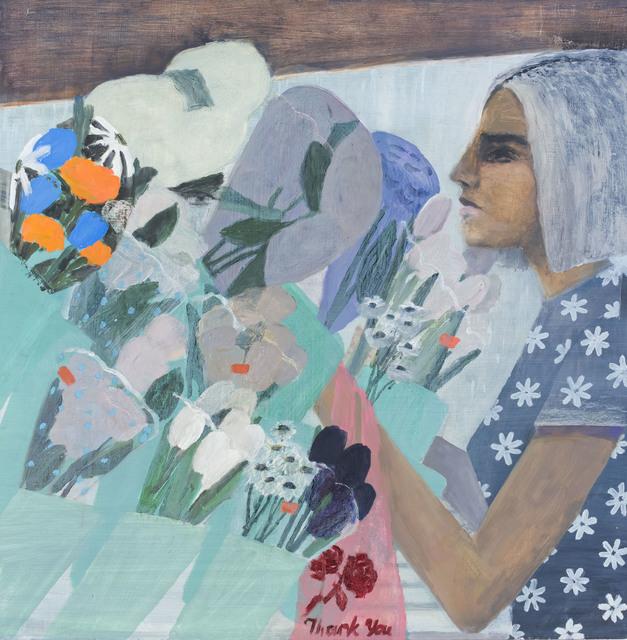 , 'Lady at a Bodega,' 2018, Nancy Margolis Gallery