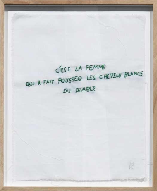 , 'Ma collection de proverbes,' 1974-2012, mfc - michèle didier
