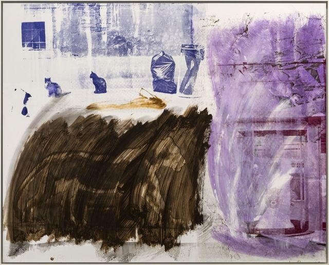 Robert Rauschenberg, 'Cat Lore (Urban Bourbon)', 1991, Galerie Thaddaeus Ropac