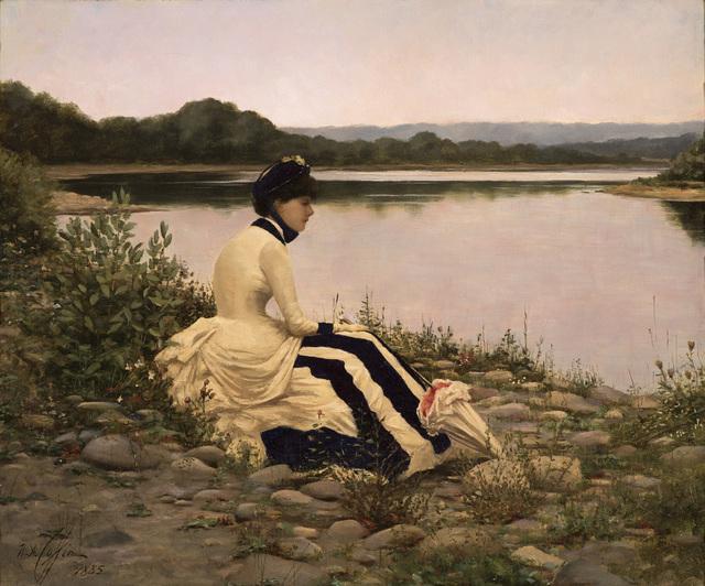 , 'Reflections,' 1885, Godel & Co.