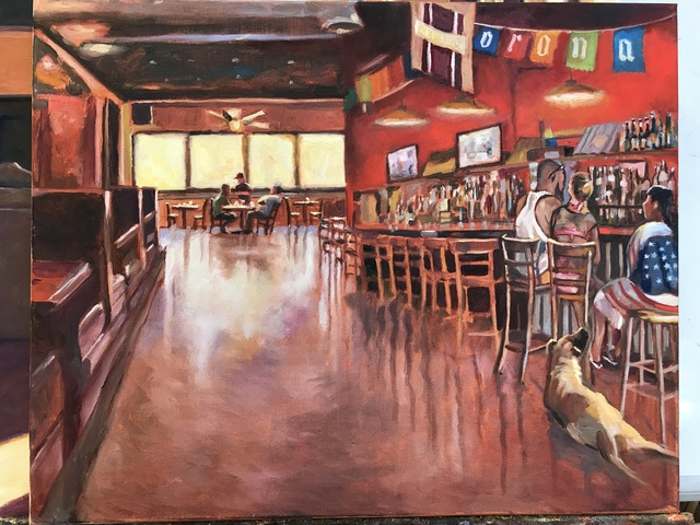 , 'Cadillac Bar,' 2017, Dog & Horse Fine Art