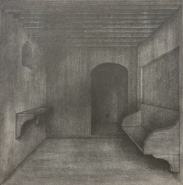 Hong Buhm, 'another room #2', 2019, Drawing, Collage or other Work on Paper, Ink, graphite, Gallery SoSo