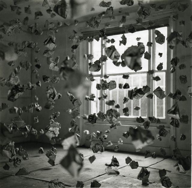 , '765 Paper Balls,' 1969, Richard Saltoun
