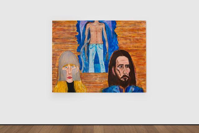Jason Fox, 'Raised on Robbery', 2019, Painting, Acrylic, oil & pencil on canvas, Almine Rech
