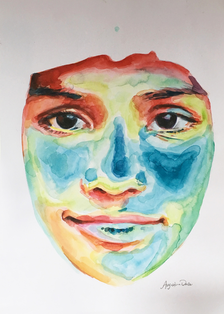 , 'Portrait Study 2,' 2018, BoxHeart