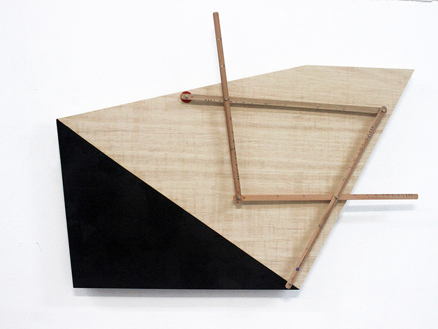 Beto Shwafaty, ' Projections (Progresses Planes) X', 2017, Casa Nova Arte e Cultura Contemporanea