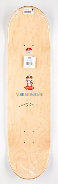 Takashi Murakami, 'Untitled, from Vault by Vans', 2015, Print, Offset lithograph in colors on skate deck, Heritage Auctions