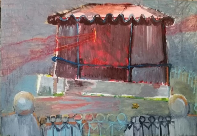 , 'Ghost Kiosk,' 2017, Meno parkas