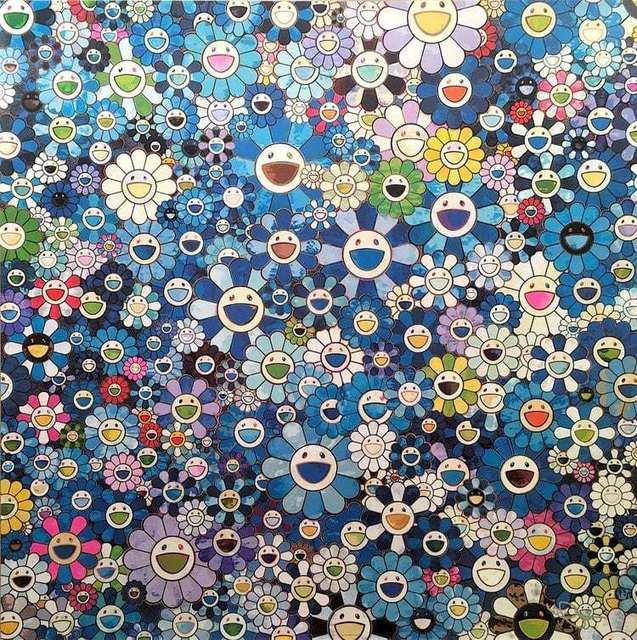 Takashi Murakami, 'Shangrila La Blue', 2015, Dope! Gallery