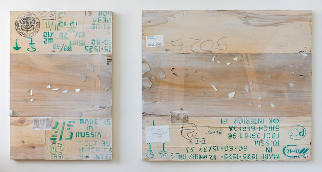 , 'EDNA: Salmo salar (Atlantic Salmon) - Diptych ,' 2018, Mark Moore Fine Art