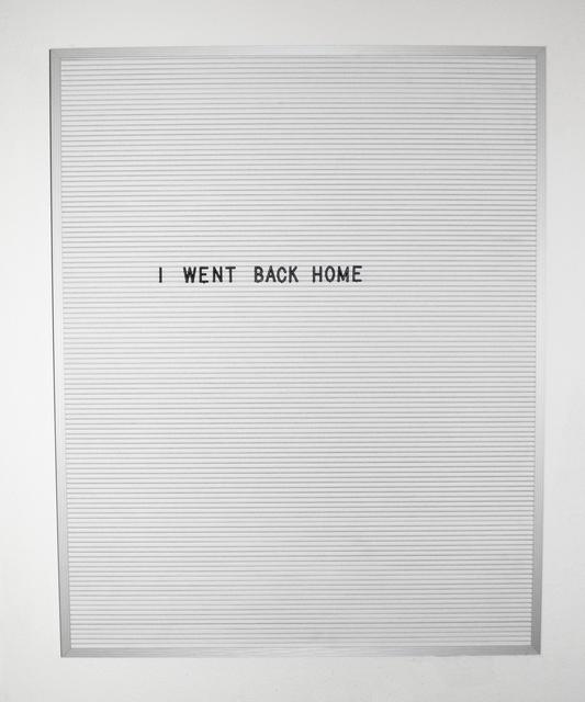 , 'Vacation,' 2016, Myla Dalbesio