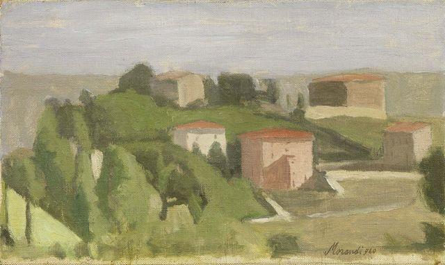 , 'Paesaggio,' 1940, Galleria d'Arte Maggiore G.A.M.