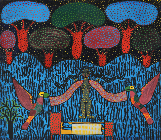 Manuel Mendive, 'Yemaya', 1976, Latin Art Core