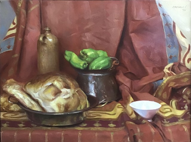Paul Rahilly, 'Bread and Peppers', 2005, Painting, Oil on canvas, Gallery NAGA