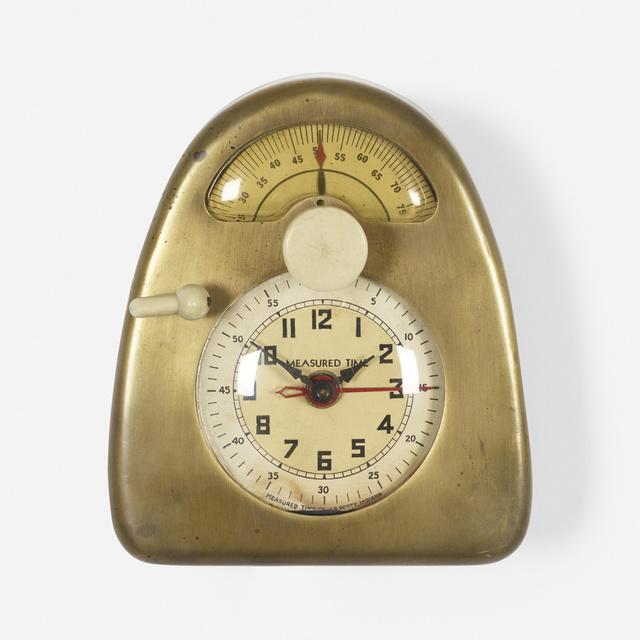 Isamu Noguchi, 'Measured Time clock and kitchen timer', c. 1932, Wright