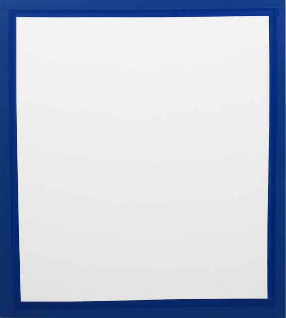, 'Cover 2 (Blue/White),' 2011, Lisson Gallery