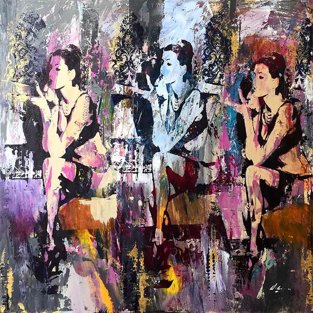 "Pietro Adamo, '""Evening Shades""', 2017, Art Leaders Gallery"