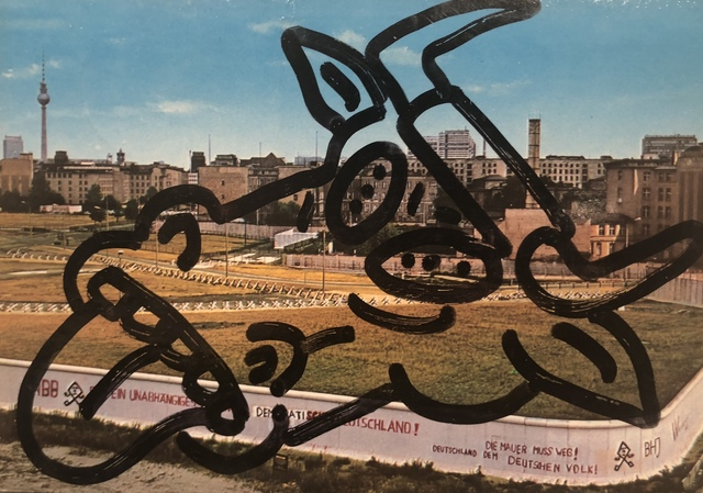 , 'Untitled (To Russell Sharon and Luis Frangella from Berlin),' 1984, Hal Bromm