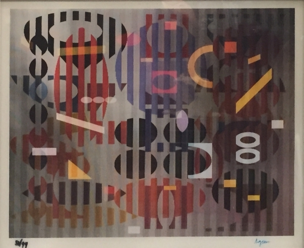 Yaacov Agam, 'PS Out of Dark', 1979, Kunzt Gallery