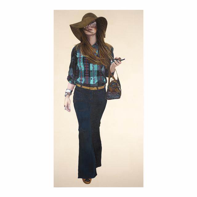 , 'Courtney Walking - Brown Hat,' 2007, Jen Mauldin Gallery