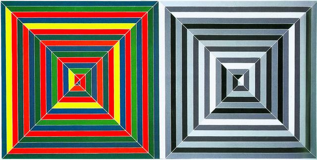 , 'Jasper's Dilemma,' 1962, de Young Museum